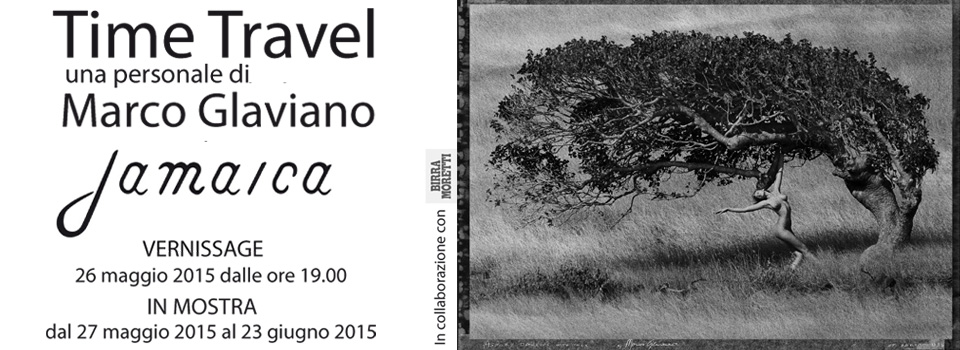 """Time Travel"" Personale di Marco Glaviano"